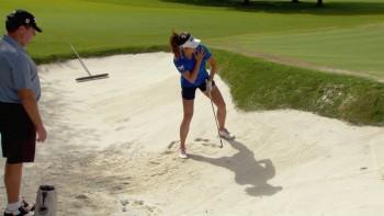 Gerina Piller: Uphill Bunker Shot