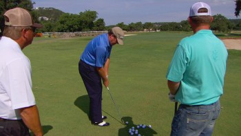 Chipping Lesson With The Ropers