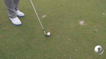 Playing From A Divot