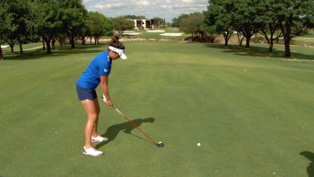 Gerina Piller: Downhill 5 Wood Shot