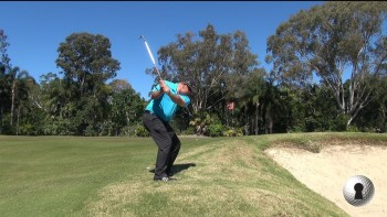Martin Ayers - High, Soft shot from the rough