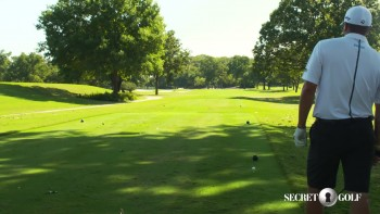 Ryan Palmer: Course Strategy - Dogleg Left Tee Shot
