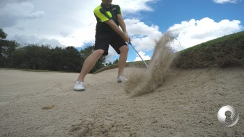 Jason Kokrak - Bunker Play - Uphill Plugged Lie
