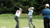 Jeff Sluman and Mark McNulty 45 Degree View Mid Iron