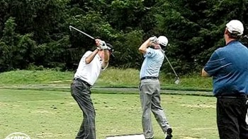 Jeff Sluman and Mark McNulty 45 Degree View Mid Iron