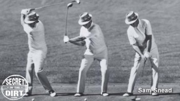 Sam Snead's Strong Hands