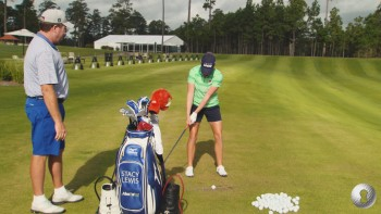Stacy Lewis - Swing Set Up:  Alignment