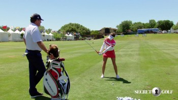 Gaby Lopez - 3 Wood Swing