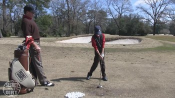 Junior Lesson - Left Leg Up and Out of the Way at Impact