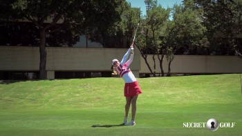 Gaby Lopez - Slow Motion, 5 Iron (Over The Camera)
