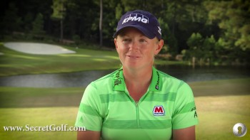 Stacy Lewis: Why I Joined Secret Golf