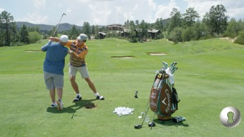 Colt Knost - Downswing: Right Shoulder Below Left & Knees Together