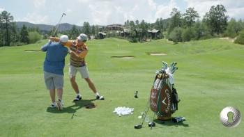 Colt Knost - Downswing: Right Shoulder Below Left & Knees Together