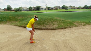 Brittany Lang - Long Bunker Shot
