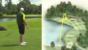 Jason Kokrak - Strategy - Champions GC (Cypress Creek) Hole 12, Par 3
