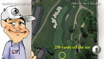 Strategy at Muirfield - Hole 14