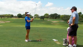Gerina Piller: Wedge Swing