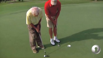 Putter in Front to Start the Motion