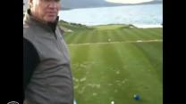 Elk on the 7th Hole at Pebble Beach
