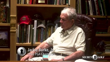Jackie Burke -  Interview With 1956 PGA Championship Winner