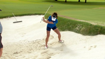 Gerina Piller: Buried Bunker Shot