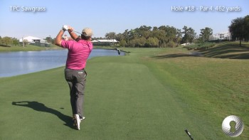 TPC Sawgrass With Steve Elkington - Hole #18 Strategy (Tee Shot)