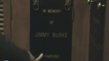 Talking to Rambo, Jimmy Demaret and Jimmy Burke's Lockers at Champions