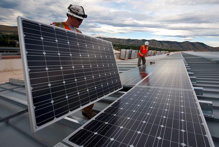 solar power installation Rutland