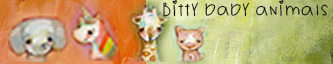 Bitty Baby animals - SELF WORK