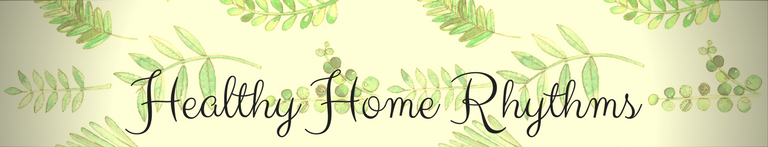 Healthy Home Rhythms