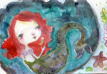 Serenity Mermaid - Self work
