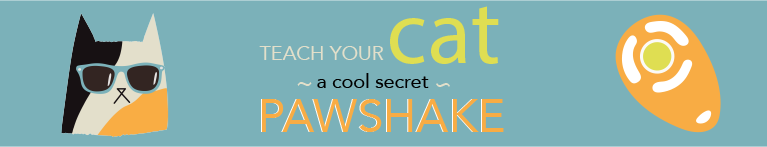 Teach Your Cat A Secret Pawshake