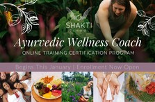 Shakti School 2019 Ayurvedic Wellness Coach Program