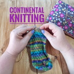 Continental Knitting With Norwegian Purl