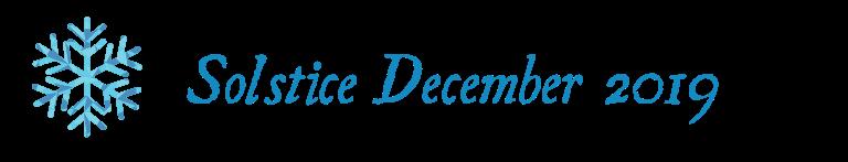 December Solstice 2019