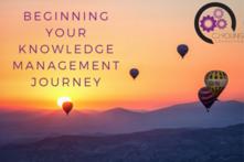 Beginning Your Knowledge Management Journey - Cohort-Option