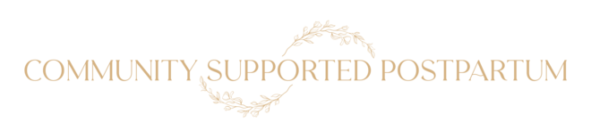Community Supported Postpartum-March 2021