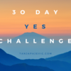 6aa9cc 30 day yes challenge