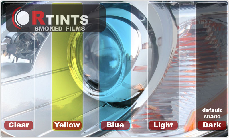 Fog Light Protection Film Shade Chart