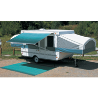 GL RV Awning Camp Out Camper Awning Pop Up Trailer Vinyl Bag Sierra Brown 11'-6 at Sears.com