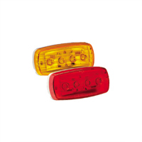 GL RV Motorhome Trailer Amber LED Light Oblong w/ Pigtail Side Marker Upgrade at Sears.com