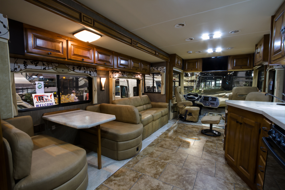 Large Luxury Rv Rental In The Usa