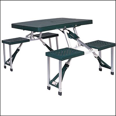 GL Stansport Plastic Folding Portable Picnic Table Foldable Camping Table at Sears.com
