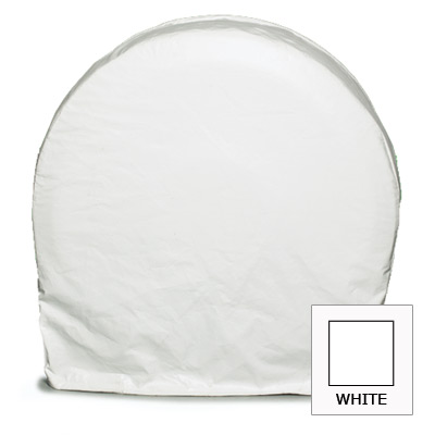 """RV SnapRing RV Tire Cover Motorhome TireSavers Trailer Wheel Covers Set of 2 Small 27""""-29"""" (White) at Sears.com"""