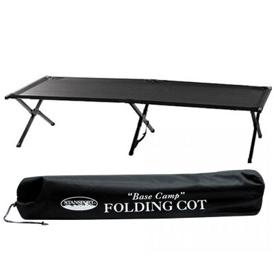 GL Super Heavy Duty Steel Base Camp Folding Cot (Carrying Bag Included) at Sears.com