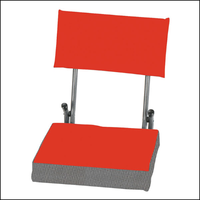Stansport Coliseum Seat Folding Stadium Seat Bench Chair Stadium Cushion Seat (Red) at Sears.com