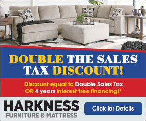 Store Flyers Harkness Furniture