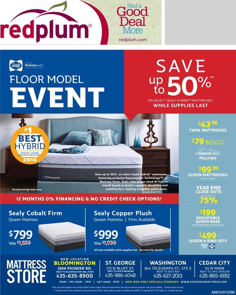 store flyers mattress store