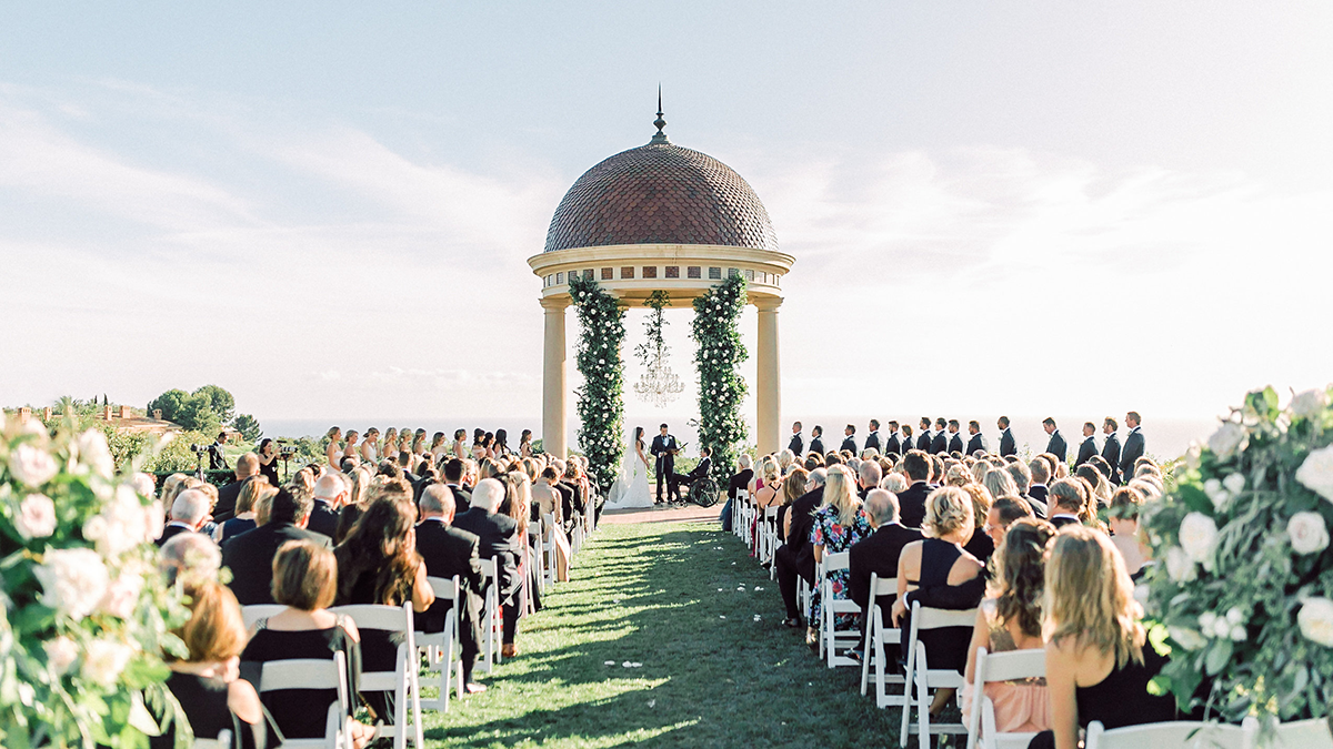 Wedding at the Resort at Pelican Hill