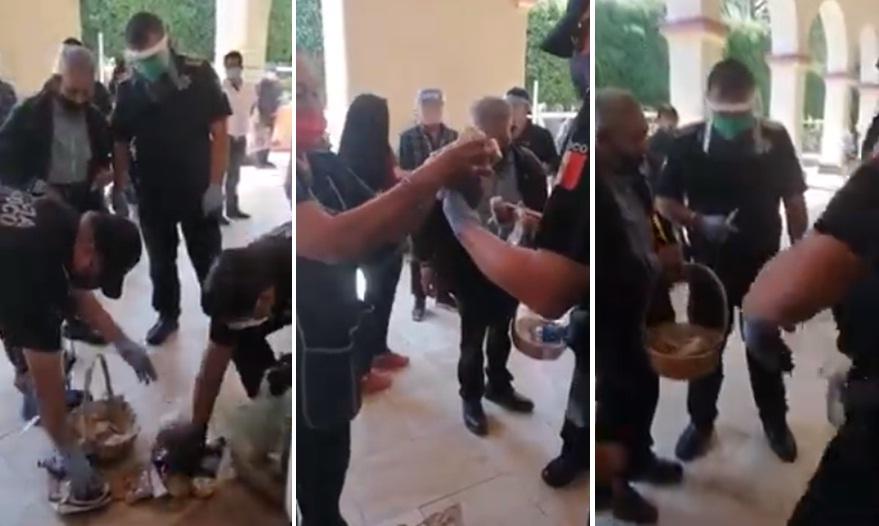 POLICÍAS MEXIQUENSES COMPRAN TODOS LOS DULCES A ABUELITO